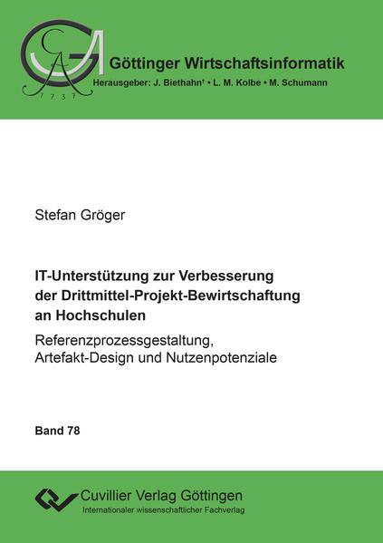 IT-Unterstützung zur Verbesserung der Drittmittel-Projekt-Bewirtschaftung an Hochschulen - Coverbild
