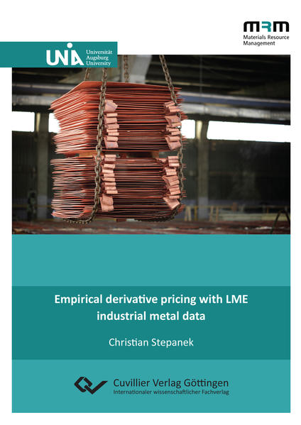 Empirical derivative pricing with LME industrial metal data - Coverbild