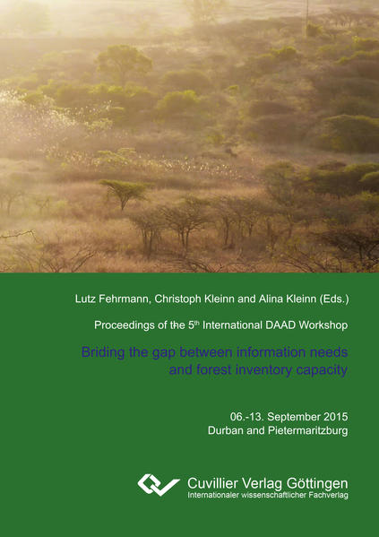 Proceedings of the 5th International Workshop on The role of forests for future global development - Coverbild