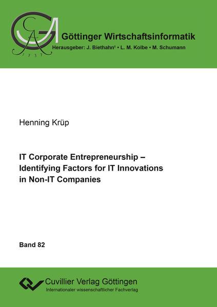 IT Corporate Entrepreneurship - Coverbild