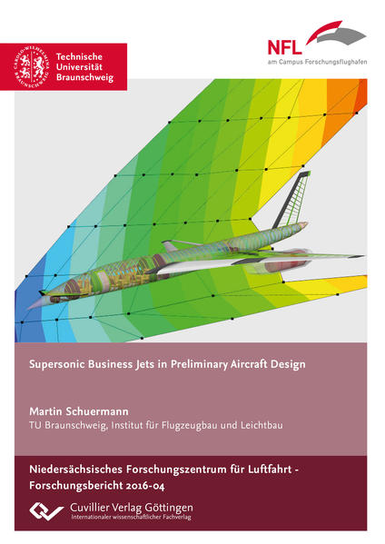 Supersonic Business Jets in Preliminary Aircraft Design - Coverbild
