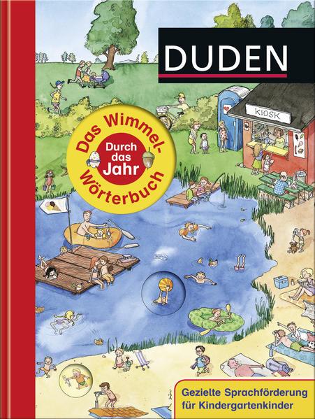Duden - Das Wimmel-Wörterbuch - Durch das Jahr - Coverbild