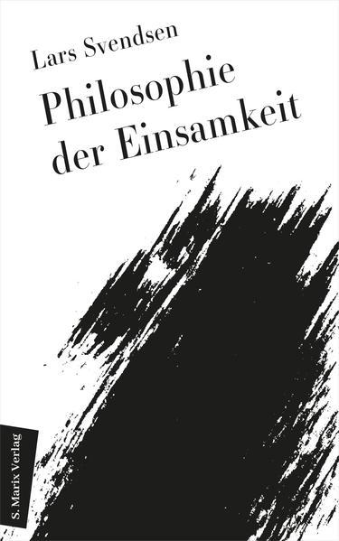 Philosophie der Einsamkeit - Coverbild