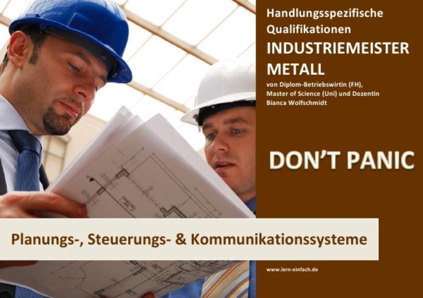 BASISWISSEN - INDUSTRIEMEISTER METALL - PLANUNGS-, STEUERUNGS- UND KOMMUNIKATIONSSYSTEME - Coverbild