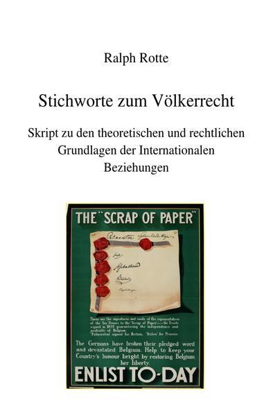 Stichworte zum Völkerrecht - Coverbild