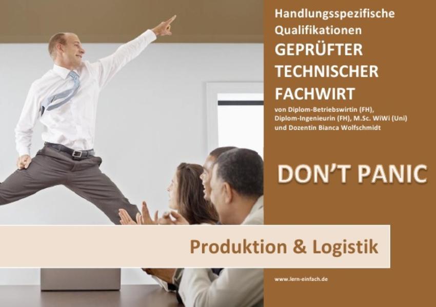 BASISWISSEN - GEPRÜFTER TECHNISCHER FACHWIRT - HQ - PRODUKTION & LOGISTIK - Coverbild