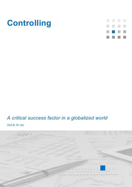 Controlling - A critical success factor in a globalized world - Coverbild