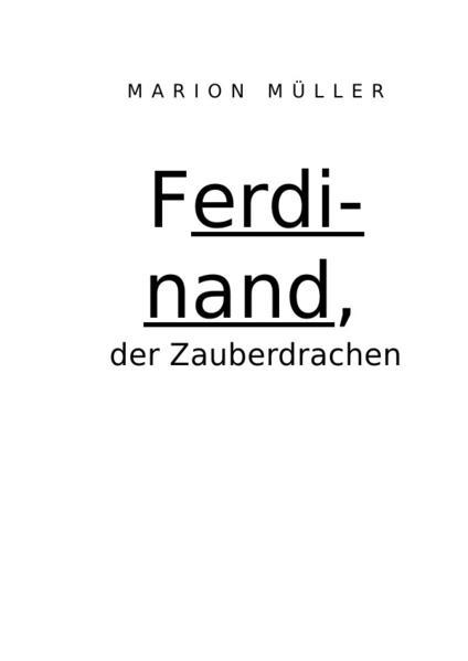Ferdinand, der Zauberdrache und Kindergeschichten - Coverbild