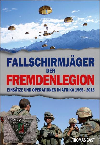 Die Fallschirmjäger der Fremdenlegion - Coverbild