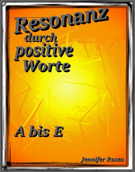 Resonanz durch positive Worte - Coverbild