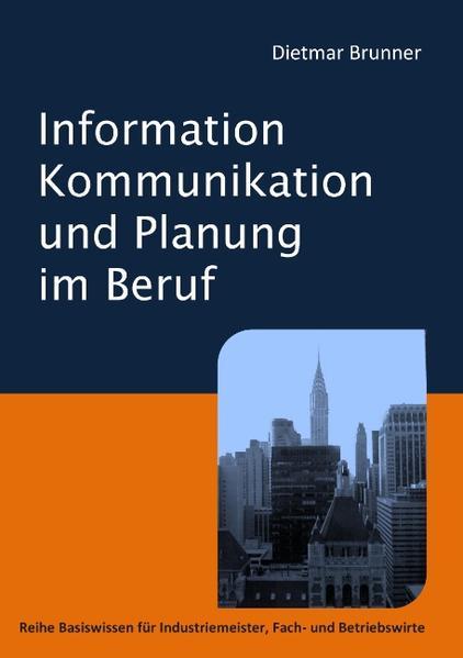Information, Kommunikation und Planung im Beruf - Coverbild