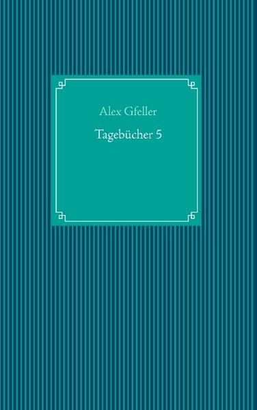 Tagebücher 5 - Coverbild