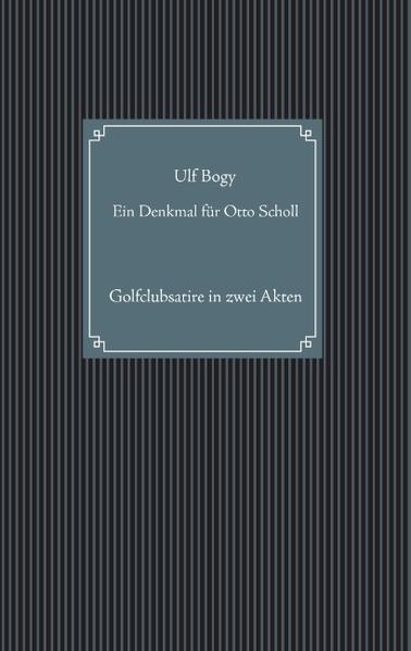 Ein Denkmal für Otto Scholl - Coverbild