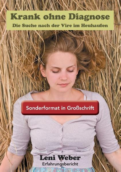Krank ohne Diagnose / Sonderformat Großschrift - Coverbild
