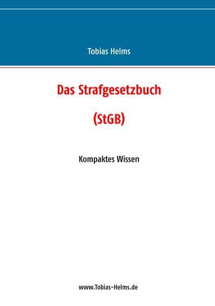 Das Strafgesetzbuch (StGB) - Coverbild