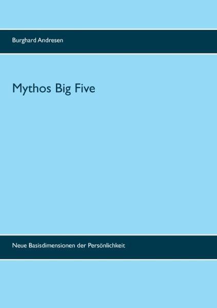 Mythos Big Five - Coverbild