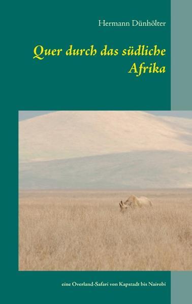 Quer durch das südliche Afrika - Coverbild