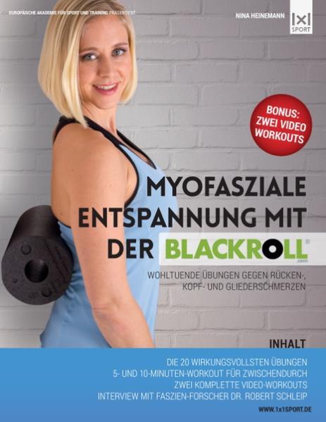 Myofasziale Entspannung mit der BLACKROLL - Coverbild