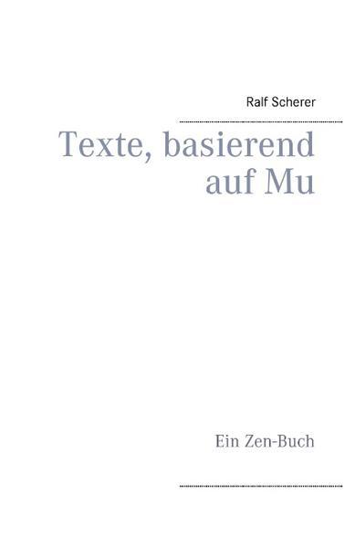 Texte, basierend auf Mu - Coverbild