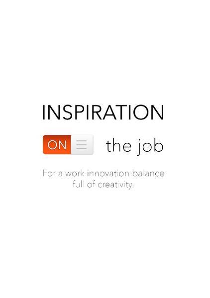 Inspiration on the job - Coverbild