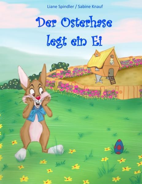 Der Osterhase legt ein Ei - Coverbild