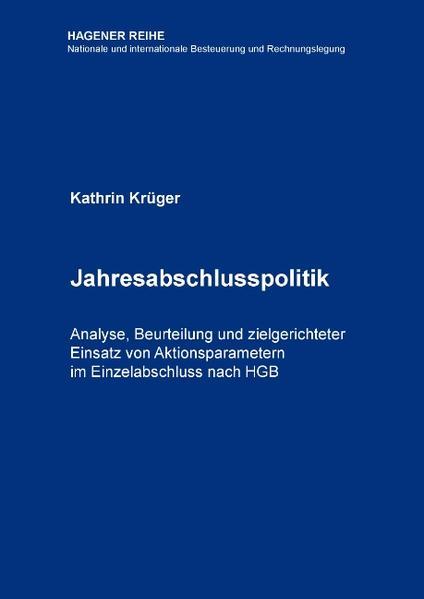 Jahresabschlusspolitik - Coverbild