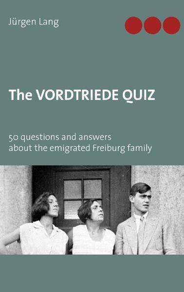 The Vordtriede Quiz - Coverbild