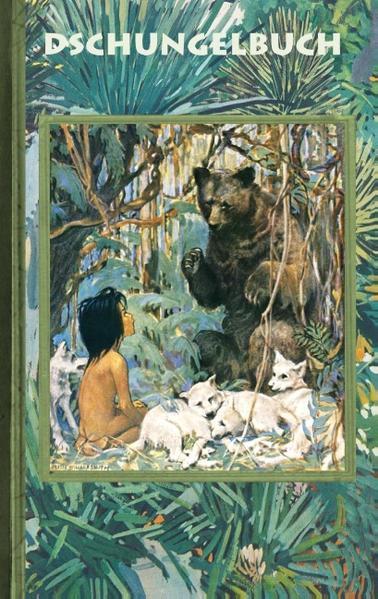 Dschungelbuch (Notizbuch) - Coverbild
