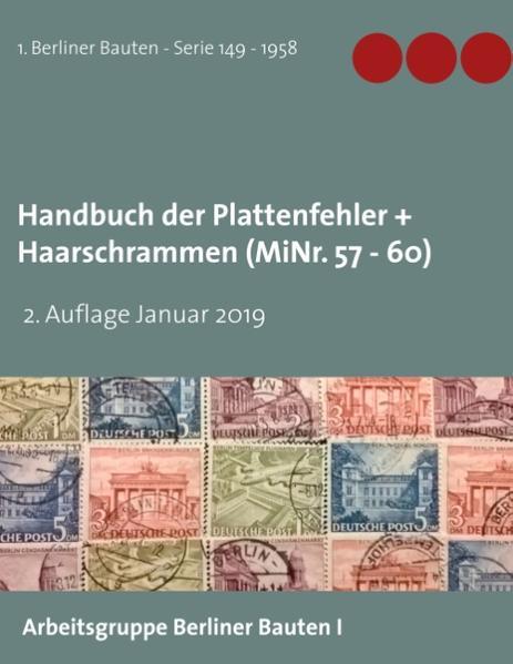 Handbuch der Plattenfehler + Haarschrammen (MiNr. 57 -60) - Coverbild