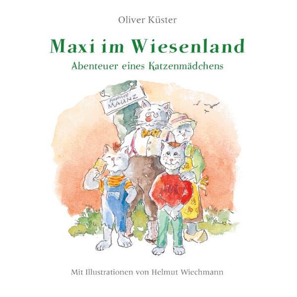 Maxi im Wiesenland - Coverbild