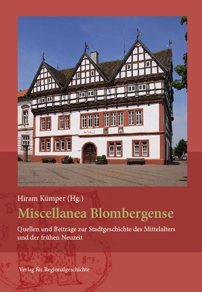 Miscellanea Blombergense - Coverbild