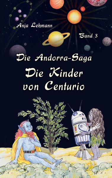 Die Andorra-Saga: Die Kinder von Centurio - Coverbild