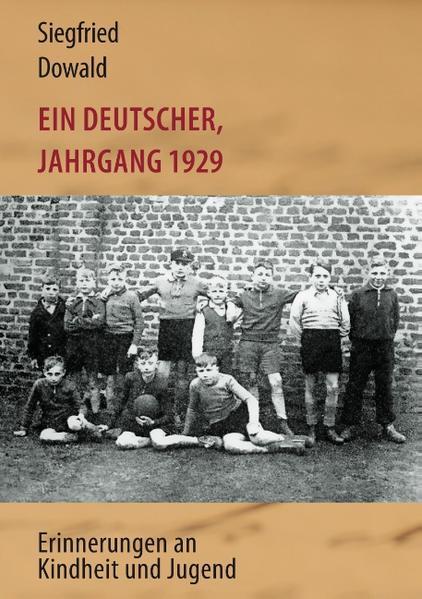 Ein Deutscher, Jahrgang 1929 - Coverbild