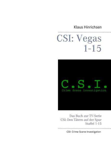 CSI: Vegas Staffel 1 - 15 - Coverbild