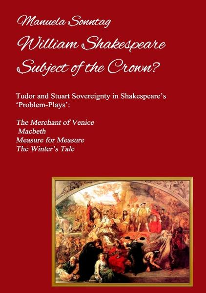 William Shakespeare - Subject of the Crown? - Coverbild