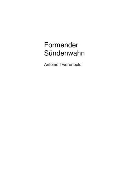 Formender Sündenwahn - Coverbild