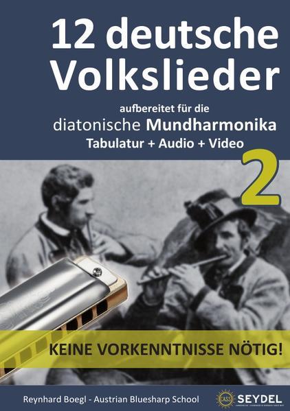 Harmonica Songbooks / 12 deutsche Volkslieder - Teil 2 - Coverbild