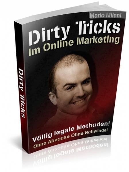 DIRTY TRICKS im Online Marketing - Coverbild