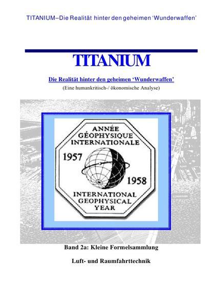 Titanium / Titanium – Die Realität hinter den geheimen Wunderwaffen - Coverbild