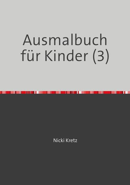 Ausmalbuch für Kinder (3) - Coverbild