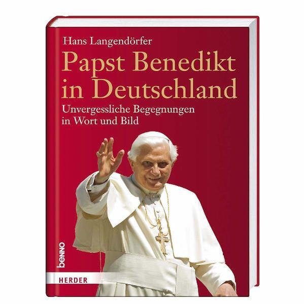 Papst Benedikt in Deutschland - Coverbild