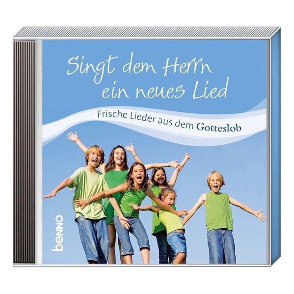 CD Singt dem Herrn ein neues Lied - Coverbild