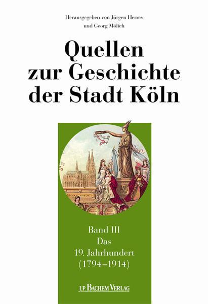 Quellen zur Geschichte der Stadt Köln - Coverbild