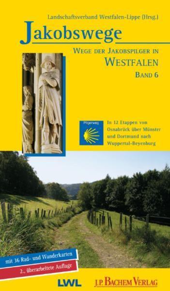 Jakobswege / Jakobswege - Wege der Jakobspilger in Westfalen - Coverbild