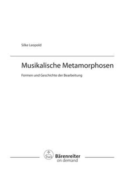 Musikalische Metamorphosen - Coverbild