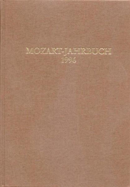 Mozart-Jahrbuch / Mozart-Jahrbuch 1996 - Coverbild