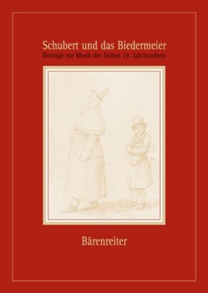 Schubert und das Biedermeier. Beiträge zur Musik des frühen 19. Jahrhunderts - Coverbild