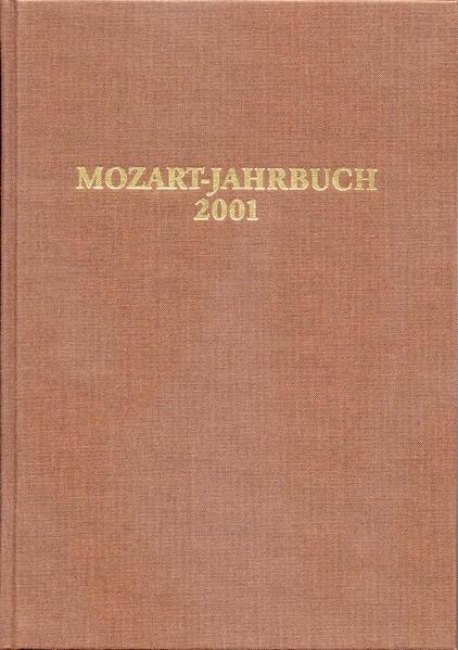Mozart-Jahrbuch / Mozart-Jahrbuch 2001 - Coverbild