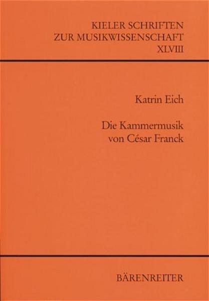 Die Kammermusik von César Franck - Coverbild