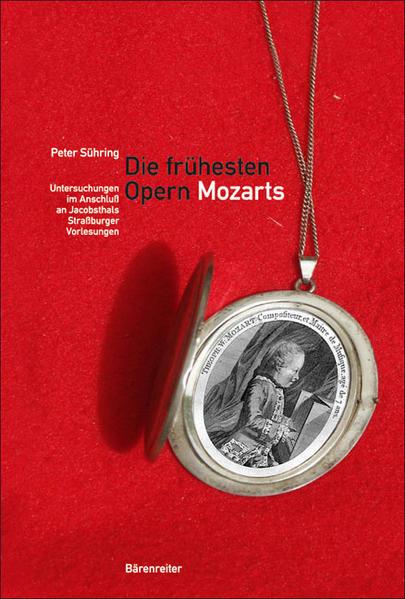 Die frühesten Opern Mozarts - Coverbild